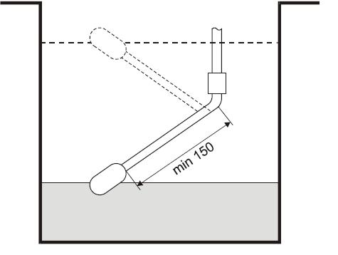 Поплавков ключ за ниво LCSM